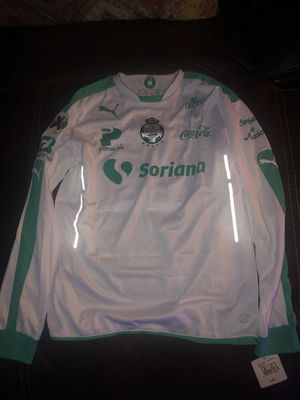 Santos jersey new with tags this is the players version size is large for Sale in Perris, CA