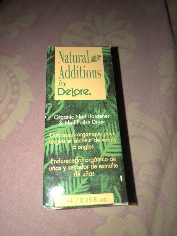 Natural Additions by DeLore Organic Nail Hardener & Nail Polish ...