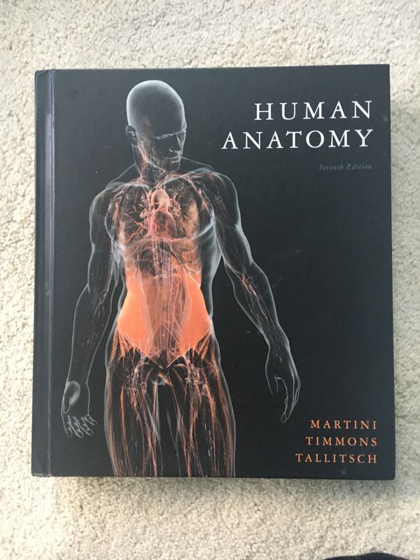 Human Anatomy 7th Edition Martini Timmons Tallitsch For Sale In