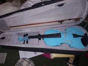 Turquoise violin for Sale in Saint Cloud, FL