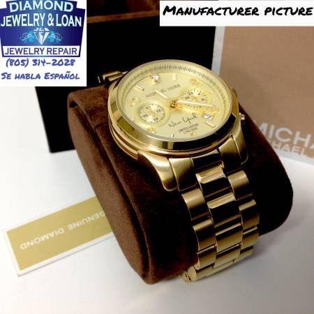 d56be19032ae Sale Limited Edition  Michael Kors Runway New York Diamond Watch ...
