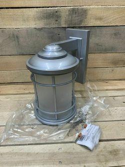 Epiphany ELP 1-Light Wall Sconce Lantern 104957-BN Brushed Nickel Eg1 Thumbnail