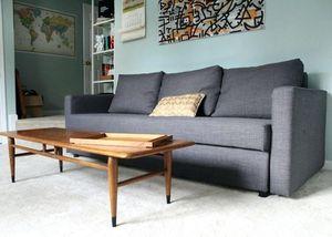 Ikea friheten sofa bed gray - Can Deliver for Sale in Arlington, VA