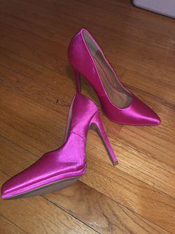 Pink Qupid Heels Thumbnail
