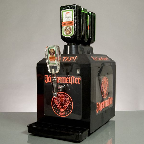 Jagermeister Machine 3 Bottle Bar Fridge Cooler Tap Machine For Sale