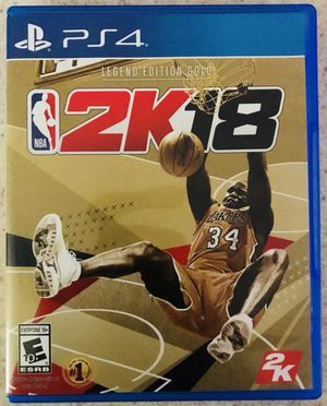 NBA 2k18 for Sale in Annandale, VA