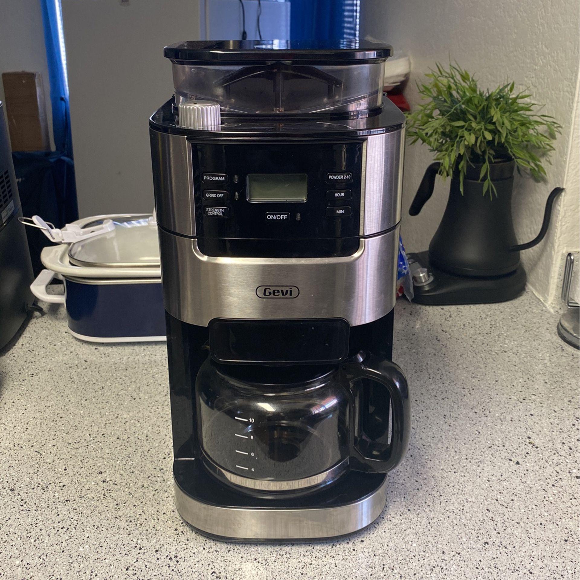 Gevi Coffee Maker & Grinder
