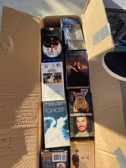 VHS TAPES (6 boxes) make me an offers Thumbnail
