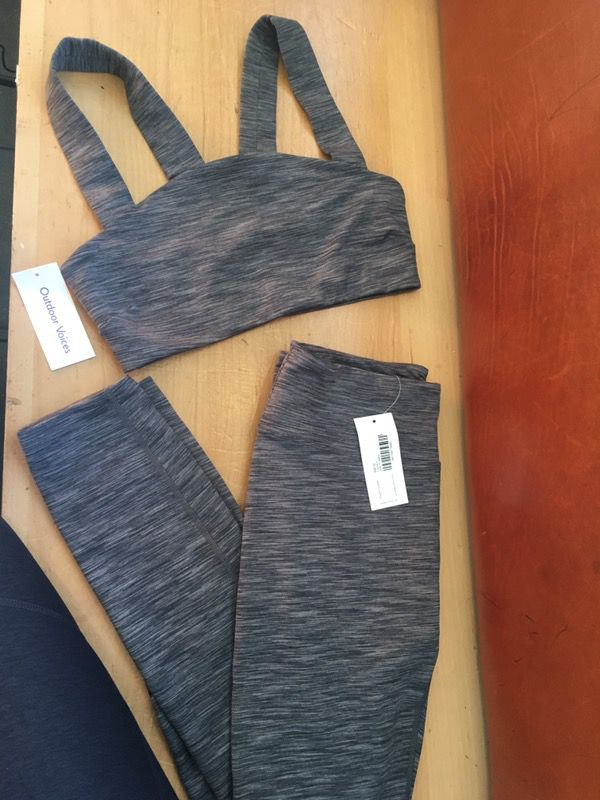 Outdoor Voices Yoga Workout Relax Outfits Clothing Shoes In San Francisco Ca Offerup