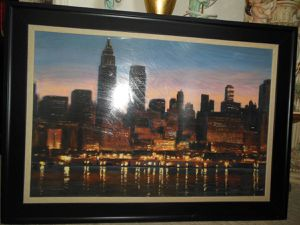 City painting for Sale in Las Vegas, NV