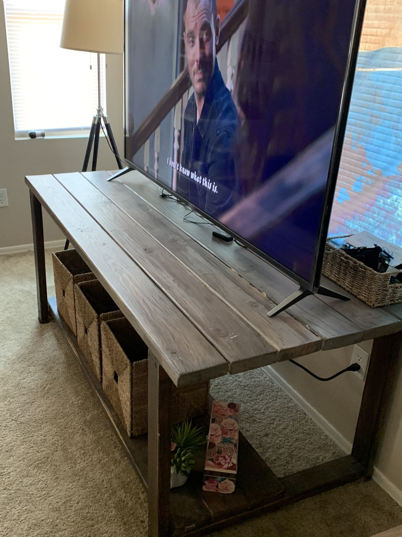 Wood Console/Table/Desk