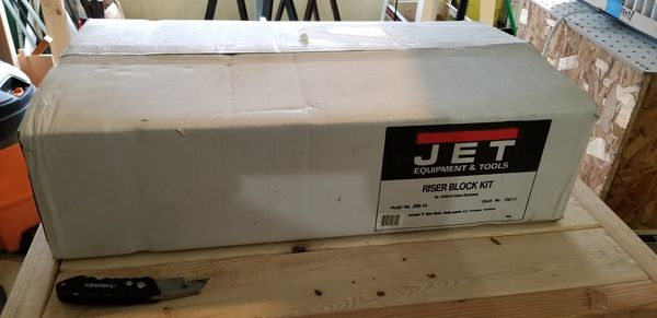 Jet 14 inch band saw riser block for Sale in Fairfield, CT - OfferUp