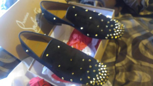 pretty nice 5031e 2cbdc Mens 11 Christian Louboutin Shoes Black for Sale in Philadelphia, PA -  OfferUp
