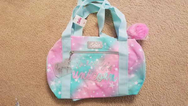 Brand New With Tags Justice Im Really A Unicorn Duffle Bag Online Only Item For In Riverview Fl Offerup