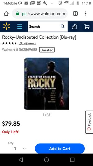 Rocky the undisputed collection for Sale in Takoma Park, MD