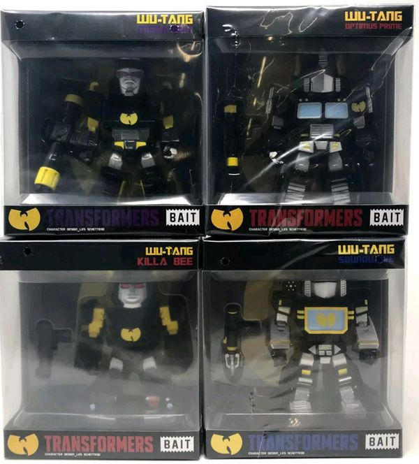 SDCC 2018 Bait Transformers Wu-Tang Figures for Sale in San Diego ... fdc0c4284