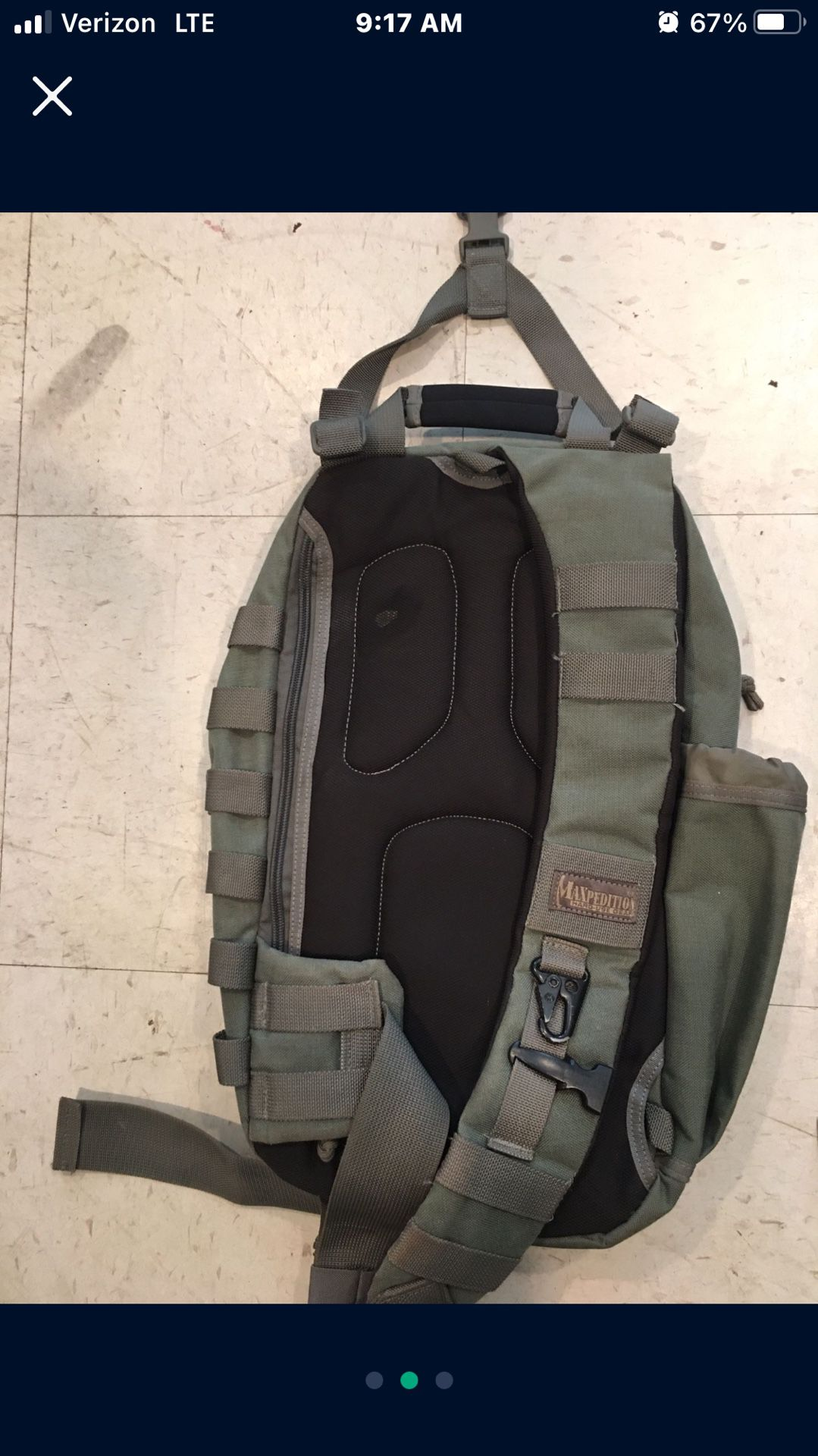 Maxpedition Tactical Sling Pack