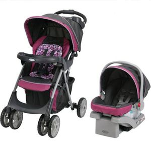 Photo Graco Stroller, Car seat and Highchair