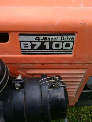 Kubota Tractor  B7100  4 wheel drive with mower for Sale in New Caney, TX -  OfferUp