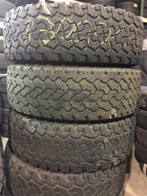 LT275/70/18 Bfgoodrich used tires for Sale in Boston, MA