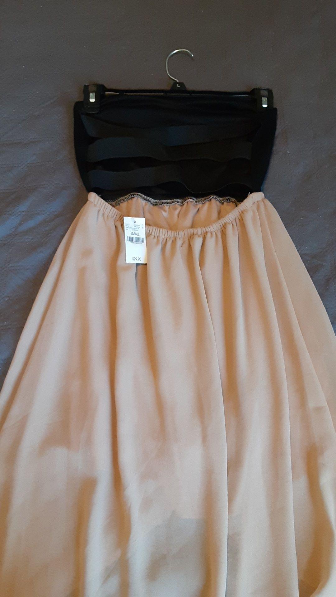 Strapless dress (new)