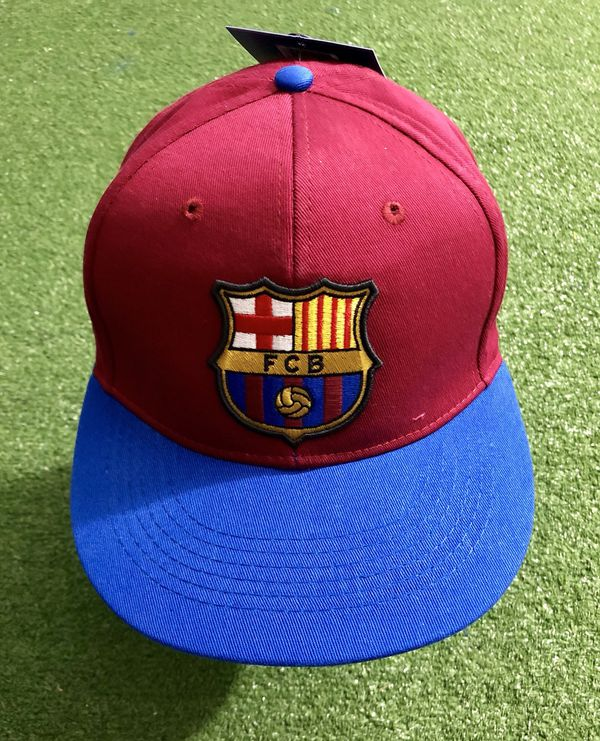 e167f330867 FC Barcelona Soccer Cap Hat Adult Adjustable.Official and licensed. New