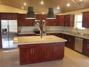 New Kitchen Cabinets Burgandy Shaker For In Orlando Fl
