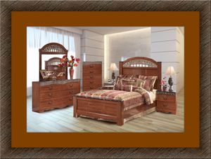 11pc Ashley bedroom set with free matters and shipping for Sale in Fairfax, VA