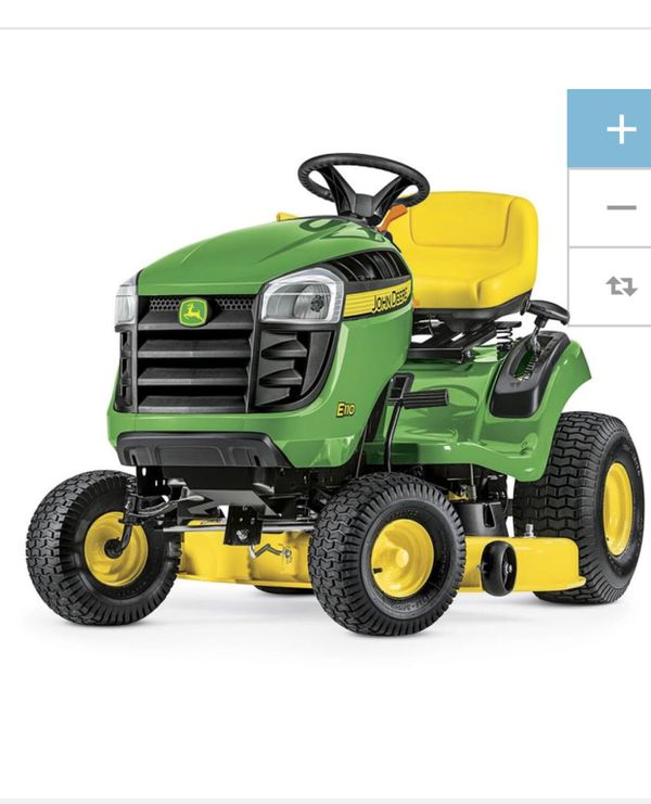 Brand new John Deere E100 17 5-HP Automatic 42-in Riding Lawn Mower for  Sale in Hillsboro, OR - OfferUp