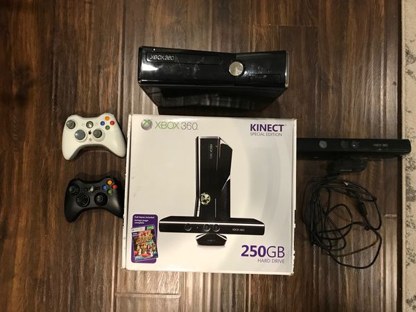 Xbox 360 console (256 gb) with Kinect, rock band bundle, and 12 games for  Sale in Sunnyvale, CA - OfferUp