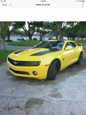 Camaro 2012 Transformers Edition for Sale in Miami, FL