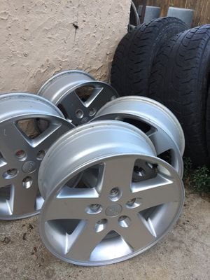 """Four rims 17"""" x7.5 for jeep for Sale in Denver, CO"""
