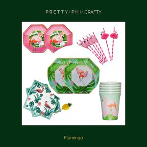 Flamingo Party Set for Sale in Dallas, TX