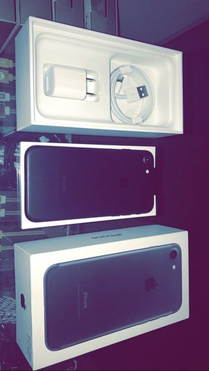 Brand New in Box iPhone 7 32Gb Verizon w/ 1 Year Warranty for Sale in Arlington, TX