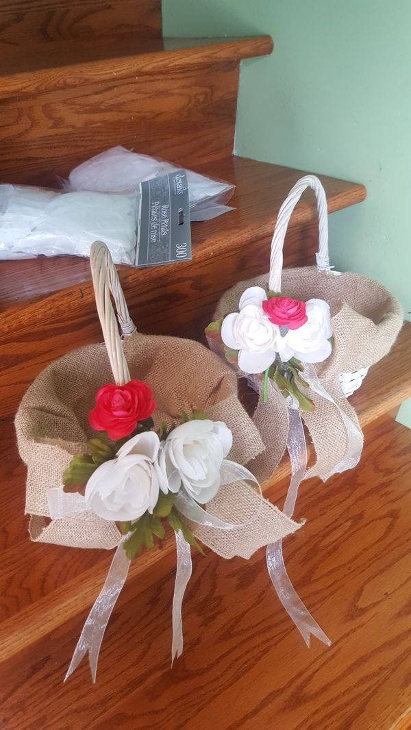 2 basket ready for use for a flower girl for sale in homewood il 2 basket ready for use for a flower girl for sale in homewood il offerup mightylinksfo
