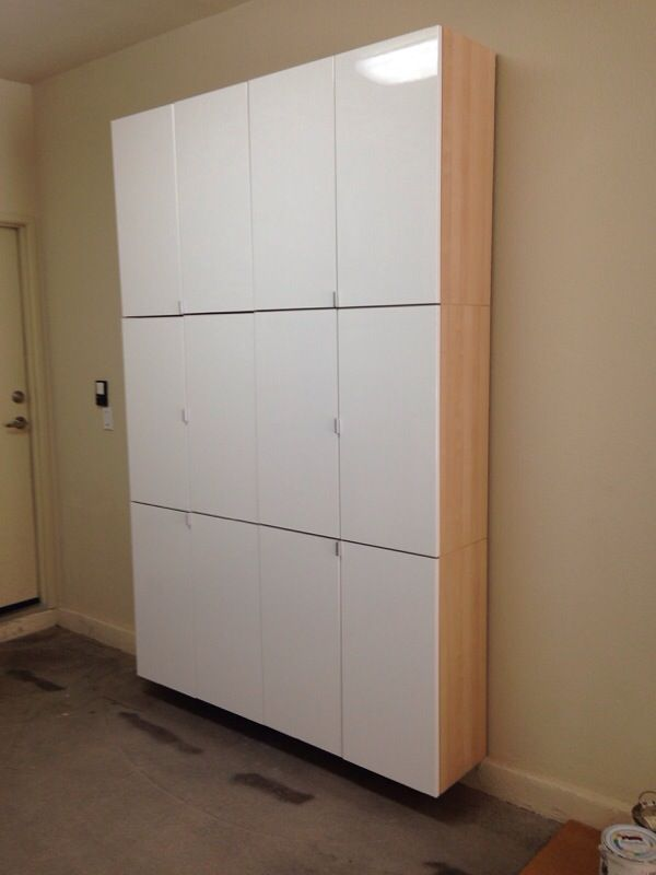 ikea wall storage cabinets for sale in las vegas nv offerup. Black Bedroom Furniture Sets. Home Design Ideas
