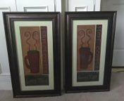 2 Kitchen wall art coffee frames for Sale in Cartersville, VA