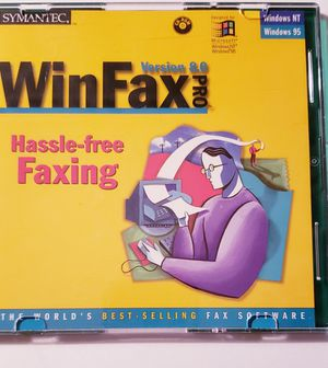 Win Fax Pro Windows 95 for Sale in Midlothian, VA