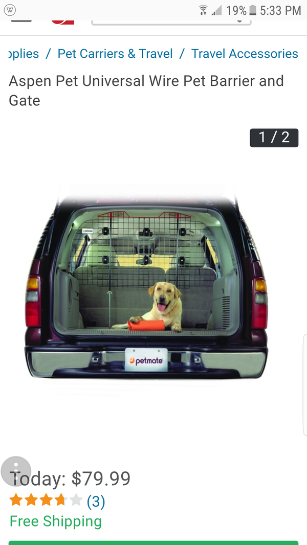New Kennel Aire Pet Barrier Fits Suv For Sale In Piedmont Sc Offerup