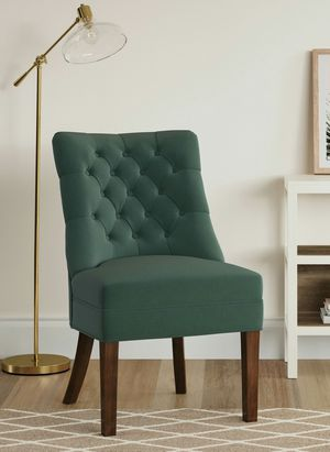 New, Treshold Tufted Back Slipper Chair Teal for Sale in Parma, OH