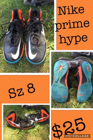 686556fae42 Nike prime hype basketball shoes size 8 for Sale in Arlington Heights