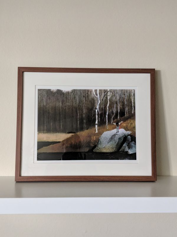 IKEA RIBBA brown frame for Sale in Pasadena, CA - OfferUp