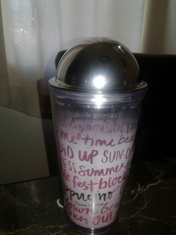 starbucks pink frappuccino summer fun tumbler household in tacoma