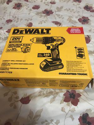 Dewalt 20v max brushless drill for Sale in Orlando, FL
