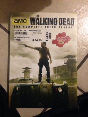 Walking dead season 3 barely used like new for Sale in Norwalk, CA