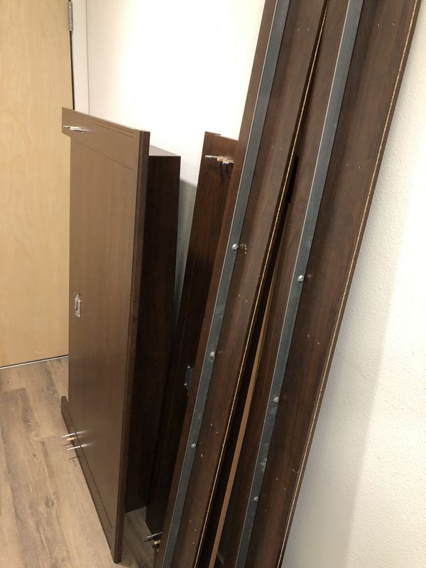 Ikea Brusali Bed Frame Full And Sliding Underbed Storage Drawer