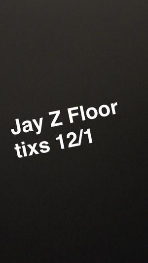 Jay Z floor tixs!! for Sale in Philadelphia, PA