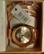 Women's ROCAWEAR WATCH SET W/MATCHING BANGLES for Sale in Philadelphia, PA
