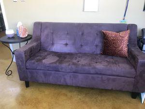 Purple couch for Sale in Oakton, VA