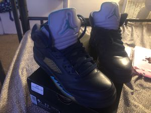 Air Jordan 6 blue reflective. for Sale in Temple Hills, MD
